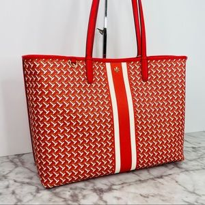 Tory Burch T Tile T Zag Tote